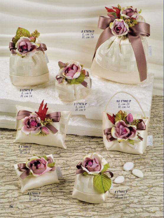 Bomboniere Matrimonio Wedding Planner.Sacchetto Confetti Bomboniere J17088 P Ingrosso Bomboniere