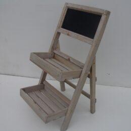 Espositore in legno con lavagna 15121600899