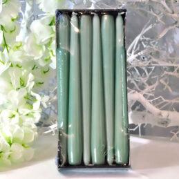Cone Candle - Candele a cono di Colore Verde Acqua