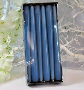 Cone Candle - Candele a cono di Colore Azzurro