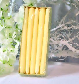 Cone Candle - Candele a cono Colore crema - Confezione Piccola