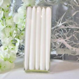 Cone Candle - Candele a cono Colore Bianco - Confezione Piccola