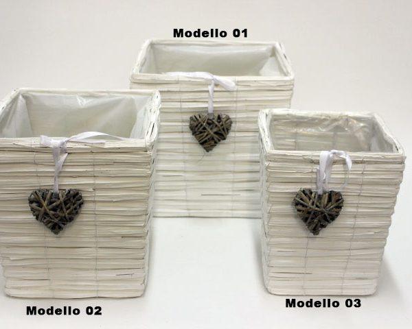 Box portafiori in legno 66256 for Portafiori in legno