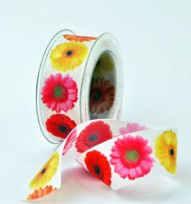 Nastro decorativo con fiori
