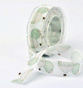 Nastro decorativo con disegno mongolfiere
