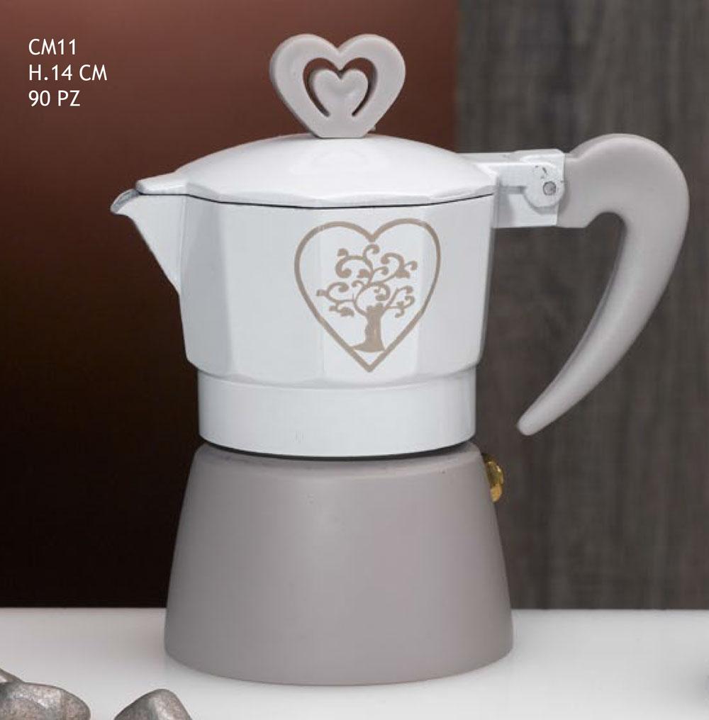 Bomboniere Caffettiere Per Matrimonio Prezzi.Bomboniera Matrimonio Caffettiera Decorazione Albero Della Vita