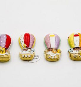 Magnete Mongolfiera Gadget Eventi Vari Collezione Le Mandorle Novità 2018