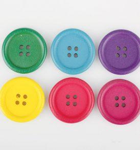 applicazioni decorativi bottoni