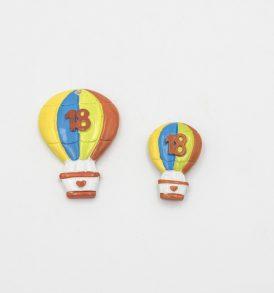 Mongolfiera Colorata Gadget Compleanno 18 Anni