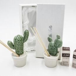 Bomboniera Profumatore Cactus in Porcellana Novità 2018