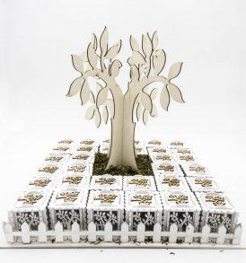 Set Scatole Porta Confetti Albero della Vita