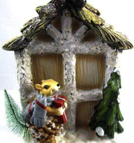 Casetta led natalizia