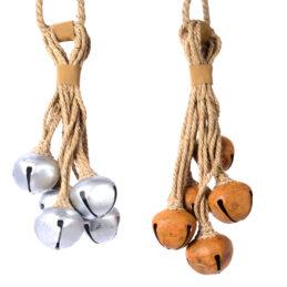 Campanacci di ferro decorativi