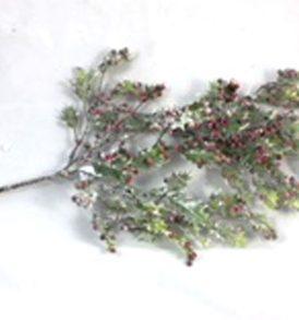 Pungitopo con brillantini ramo