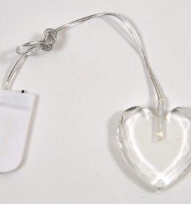 Led cuore pendente