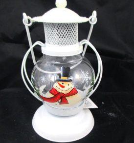 Lanterna con decorazione natalizia