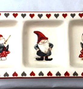 Vassoio per antipasti in ceramica