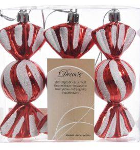 Set 3pz appendini natalizi decorativi