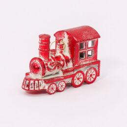 Trenino rosso appendibile