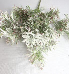Ramo di fiore innevato
