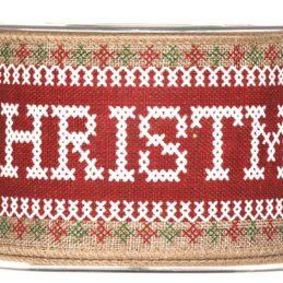 Nastro decorativo natalizio