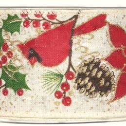 Nastro decorativo con fantasia natalizia