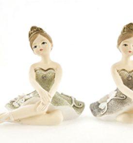 Bomboniera ballerina principessa in porcellana