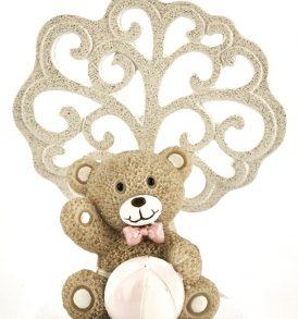 Bomboniera orsetto con albero della vita