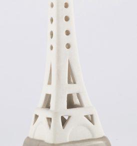 Bomboniera Torre Eiffel in porcellana