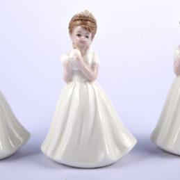Bomboniera principessa in porcellana