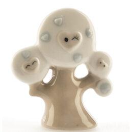 Bomboniera Albero della Vita in ceramica con smile