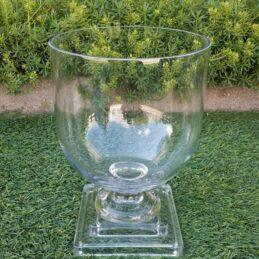 Vaso per interni esterni in vetro