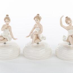 Bomboniera carillon ballerina porcellana