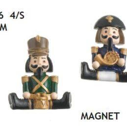 Bomboniere magnete soldatini seduti quattro assortiti