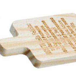 Bomboniera piccolo tagliere in legno di bambù